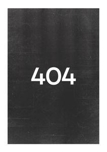 404  Prints Typography & Quotes