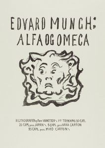 Alpha And Omega Title Page By Munch  Posters Nyheter