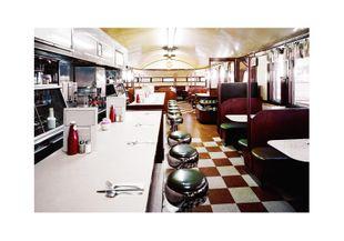 American Diner  Prints American Scenes