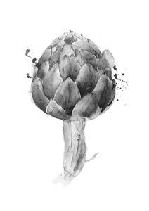 Artichoke Drawing  Prints Illustrations