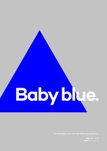 Baby Blue  Affiches Affiches de citations