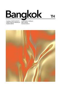 Bangkok Abstract  Posters Platser