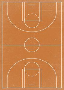 Basketball  Posters Grafiska motiv