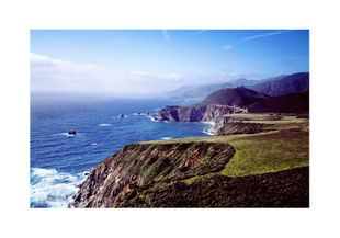 Big Sur Blues 2  Posters Natur & Landskap