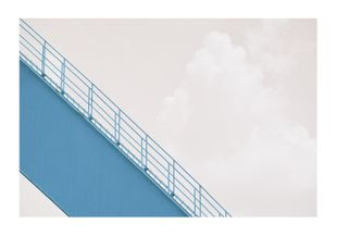 Blue Stairs  Prints Nature & Scenery