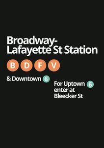 Broadway Lafayette  Prints Places & Cities