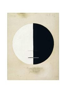Buddha's Standpoint In The Earthly Life No 3a By Hilma Af Klint  Posters Nyheter