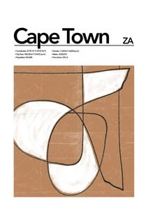 Cape Town Abstract  Prints Places & Cities