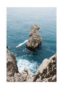 Coastal Rocks  Affiches Nature & Paysages