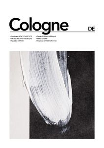 Cologne Abstract  Prints Places & Cities