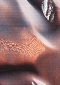 Copper Wave  Poster Abstraktes Motiv