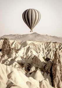 Desert Balloon  Posters New Arrivals