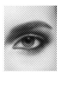 Eye Halftone  Prints Halftone