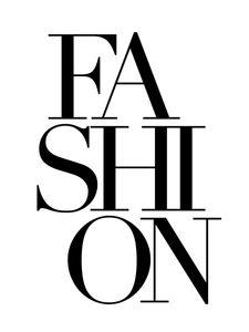 Fashion Text  Poster Typografie und Zitate