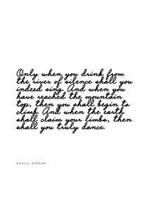 Gibran Quote  Prints Typography & Quotes