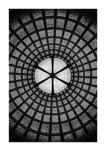 Glass Mosaic  Prints Architecture
