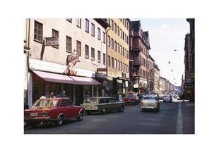 Götgatan Vintage  Posters Fotokonst