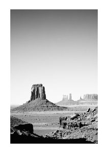 Grand Canyon Scene  Prints Black & White Photography