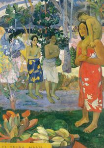 Hail Mary By Gauguin  Posters Nyheter