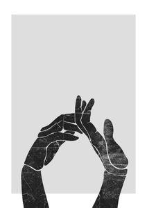 Hands Stencil  Posters Illustrationer