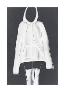 Hoodie  Affiches Illustrations