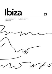 Ibiza Abstract  Prints Places & Cities