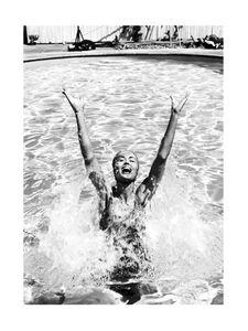 In The Pool  Prints Bestsellers