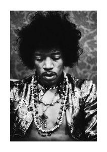 Jimi Hendrix  Prints Icons