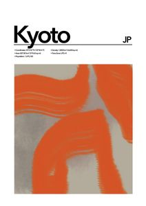 Kyoto Abstract  Prints Places & Cities