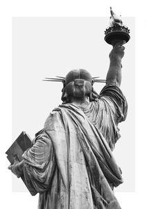 Liberty Back  Prints Black & White Photography