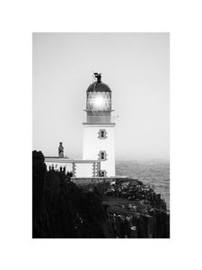 Lighthouse  Prints Black & White Photography