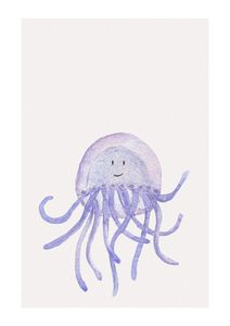 Lil Jellyfish  Affiches Posters pour enfants