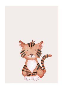 Lil Tiger  Prints Kids Prints