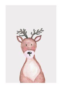 Lil Winter Deer  Affiches Posters pour enfants