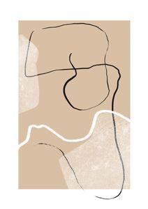 Macchiato  Poster Abstraktes Motiv
