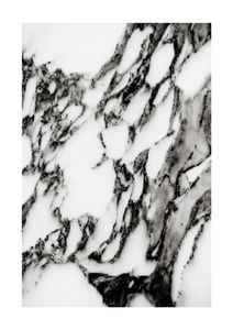 Marble Abstract  Posters Svartvita posters