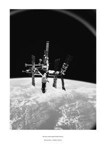 Mir Space Station  Prints Black & White Photography