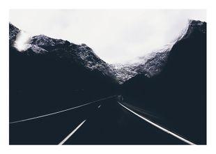 Mountain Road  Poster Natur & Landschaft