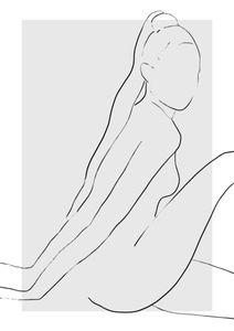 Naomi Sketch  Affiches Premium Selection