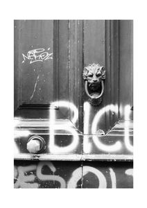 Naples Door  Prints Black & White Photography