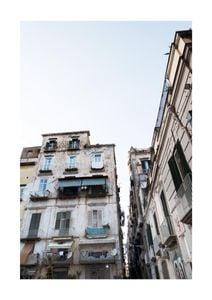 Naples Eve  Poster Architektur