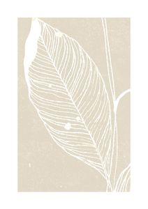 Neutral Plant 1  Poster Illustration