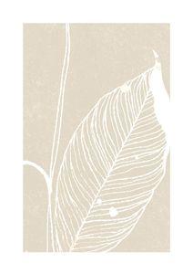 Neutral Plant 3  Poster Illustration