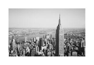 Sleepless City Skyline  Posters American Scenes