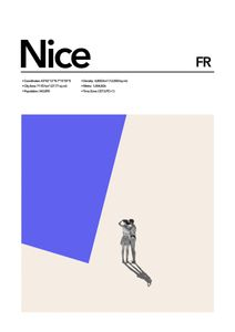 Nice Abstract  Affiches Studio France