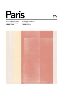 Paris Abstract  Affiches Studio France