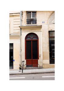 Paris Door  Affiches Studio France