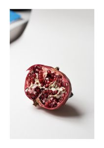 Pomegranate Study In Color 2  Affiches Photographies