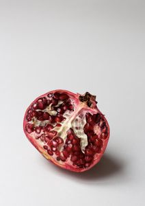 Pomegranate Study In Color  Posters Fotokonst