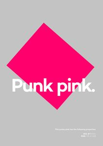 Punk Pink  Affiches Affiches de citations